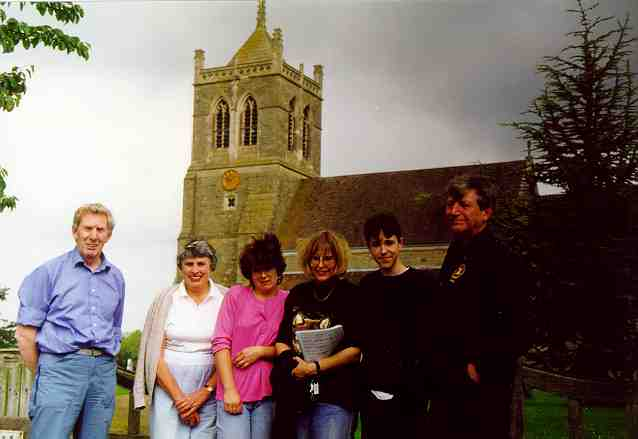 Suckley Bellringers on 29th June 1997